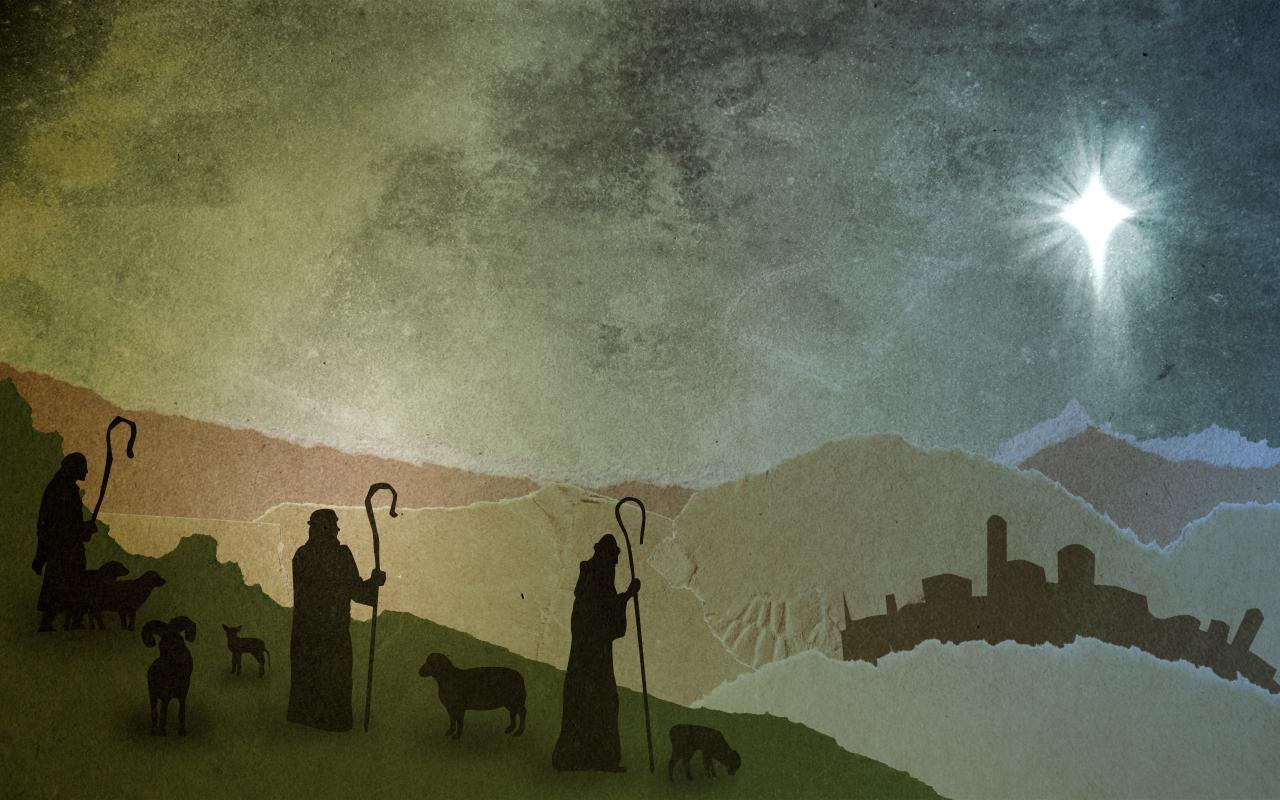 Cardboard Christmas Shepherds Www Thedanw Com